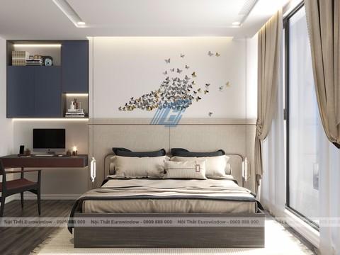 Đẹp hút mắt căn hộ sử dụng nội thất Eurowindow